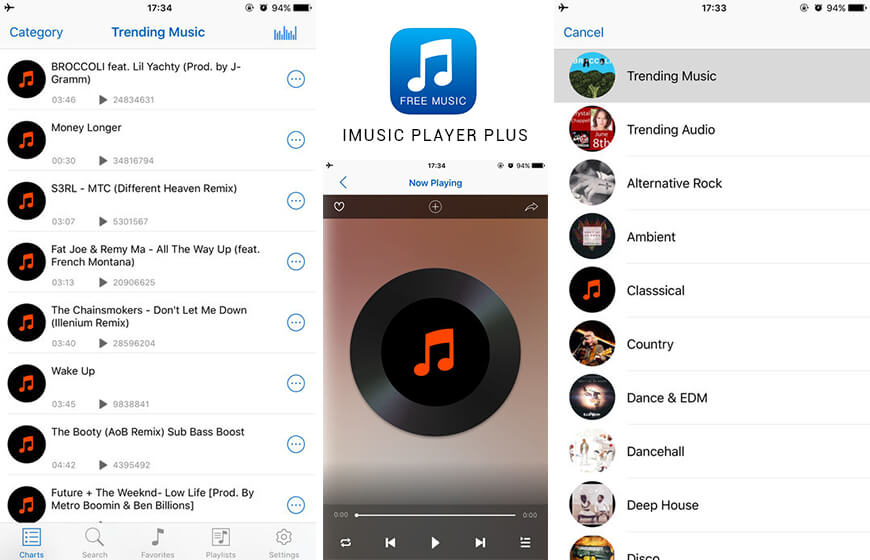 Free Music for iphone plus