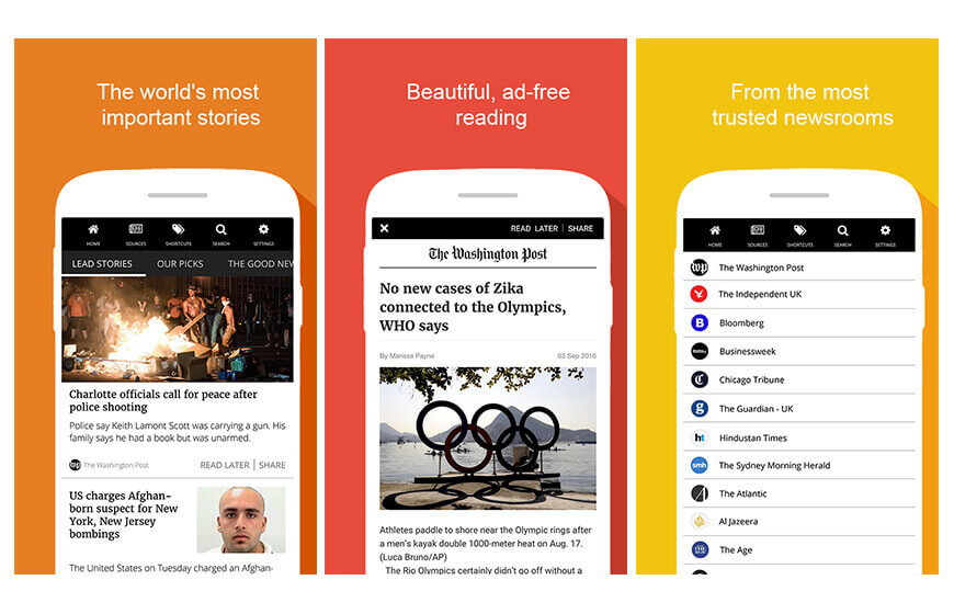 INKL news mobile application