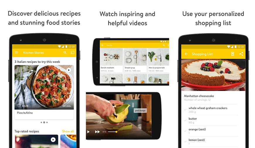 Top 10 best cooking apps for android and iphone kitchen stories is all about baking and healthy cooking it is one of the best android cooking apps that adds the world of recipes to your pocket forumfinder Image collections