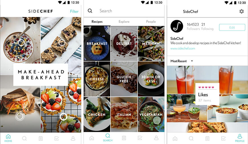 Top 10 best cooking apps for android and iphone the step by step photos instruction and voice command makes it easier to learn how to cook with this best android cook app forumfinder Image collections