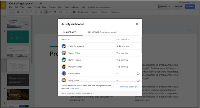 gsuite functionality