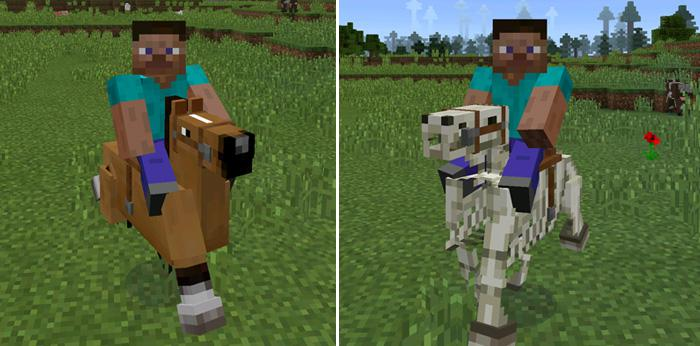 Minecraft horse saddle