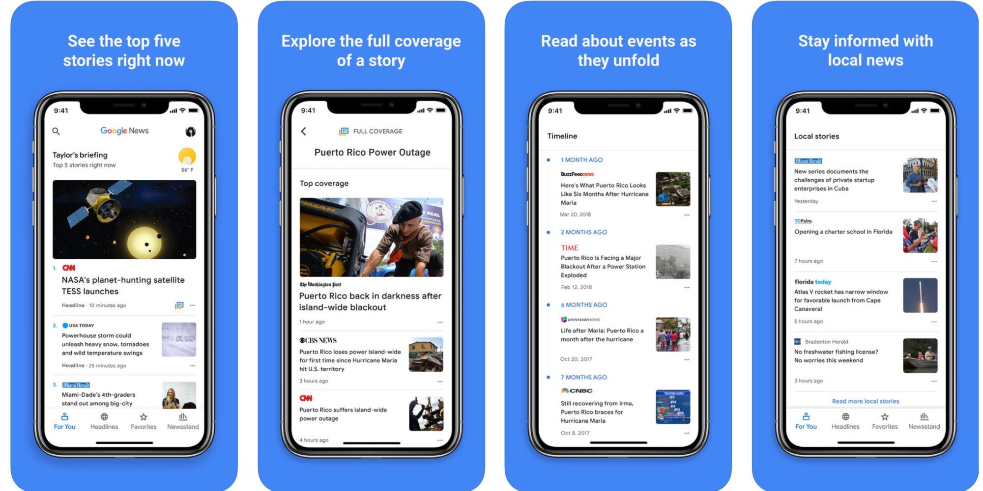 Google News updates utilize AI to take on Apple News