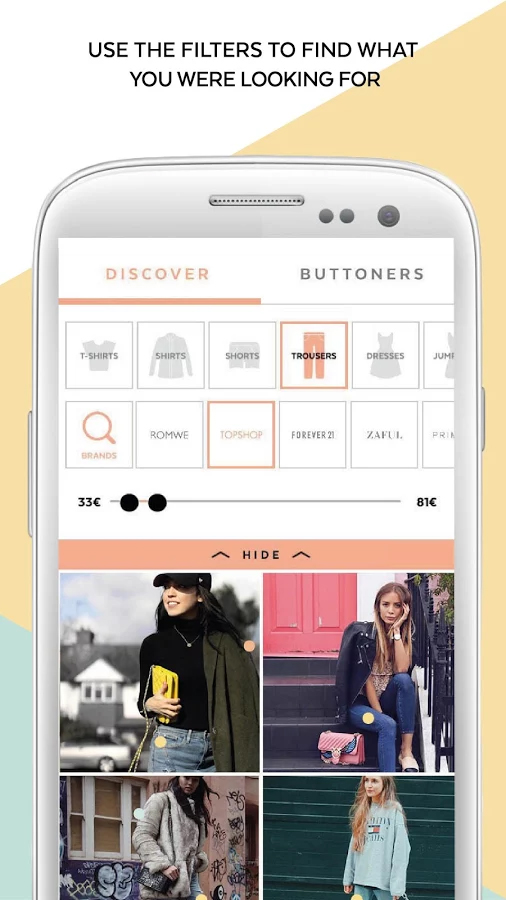 21 Buttons: The App