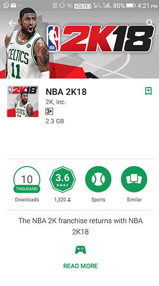 The best APP in Sports category