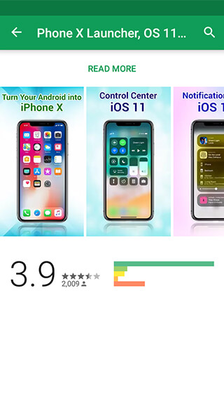 Get all the design and interface of iPhone X