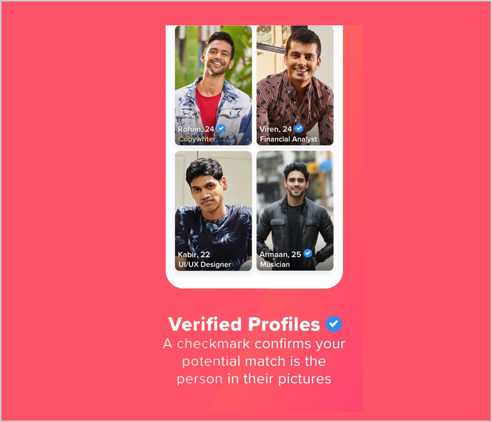The verification process has to be strict
