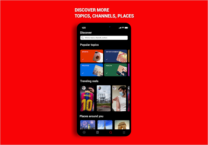 discover more channels