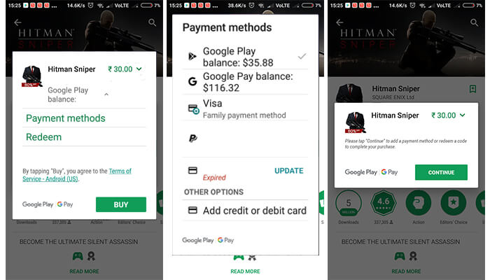 Buy paid Apps