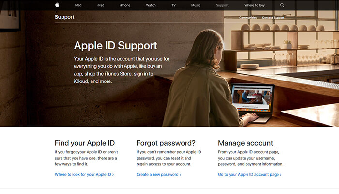Apple ID Support