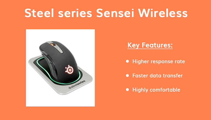 Steel series Sensei Wireless