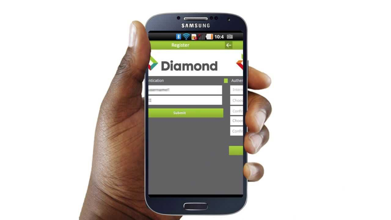 Diamond Bank mobile app