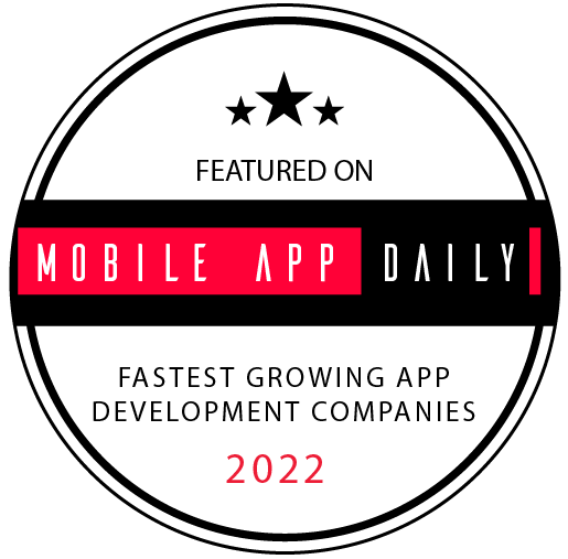 Fastest Growing App Development Companies - Badge