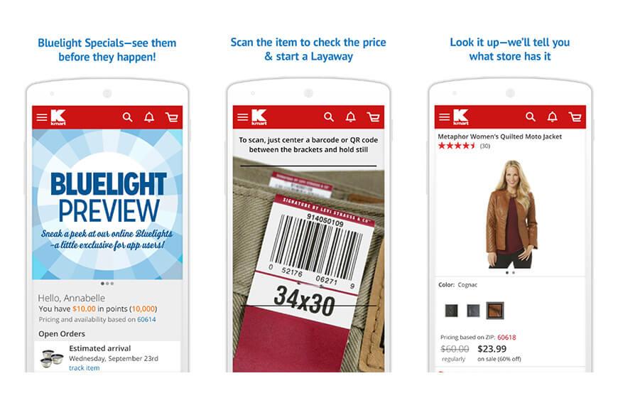 Kmart mobile Apps