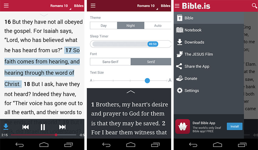10 Best Bible Apps for Android and iPhone Devices | MobileAppDaily