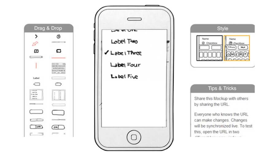 functionalities of your app