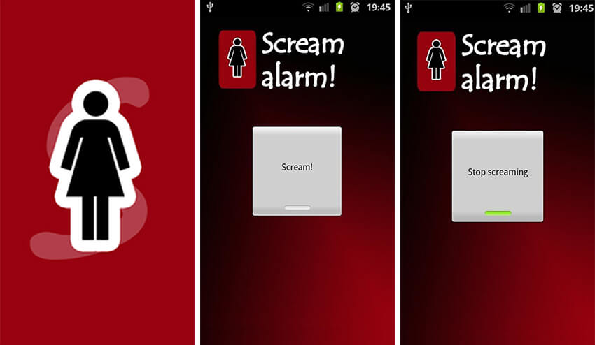 Scream Alram App