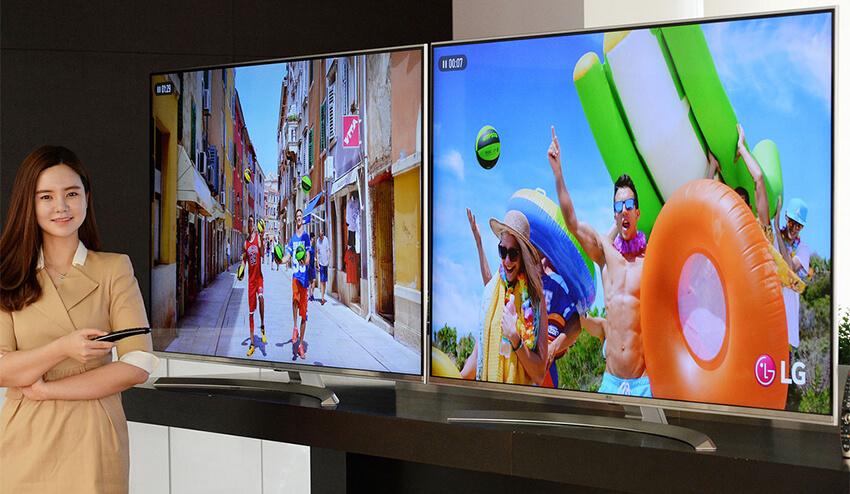 LG 8k TV