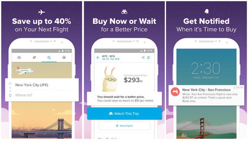 a7e9cf87b5f1 The app claims that it can save up to 40 percent on your next flight