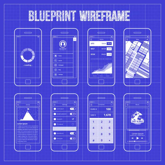 Blueprint for app development
