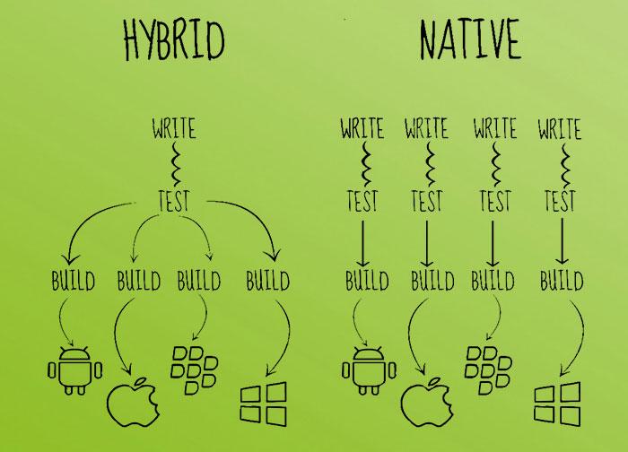 hybrid vs native
