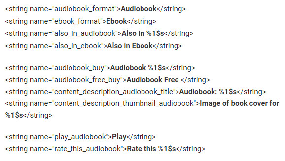 Facebook Audiobook Code