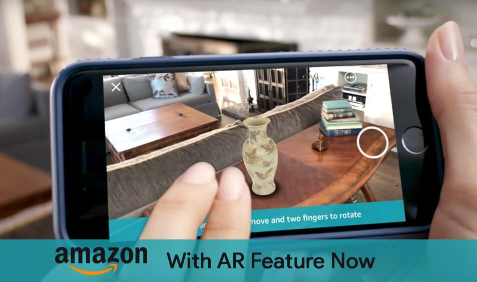 amazon with AR View