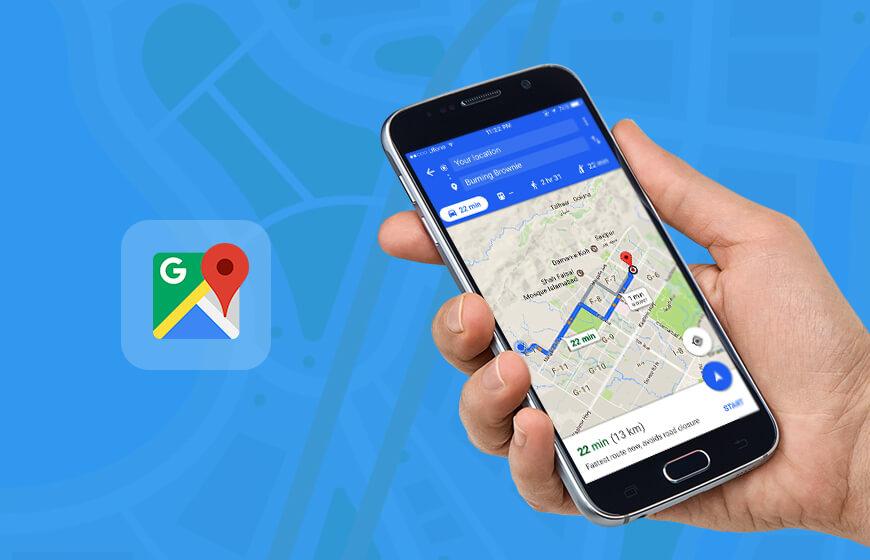 update in Google map