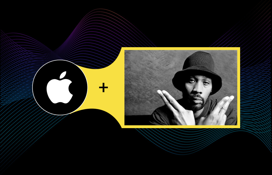 RZA in Apple's Event