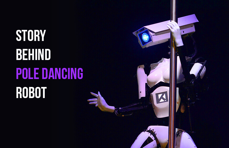 Robot pole dance