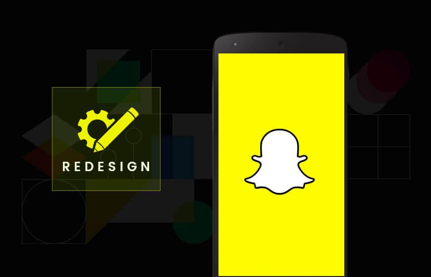 Snapchat New UI Design