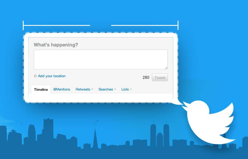 Twitter 280-Characters Tweet