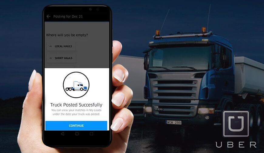 uber trucking apps