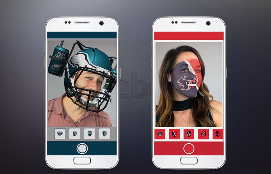 Facebook AR mask