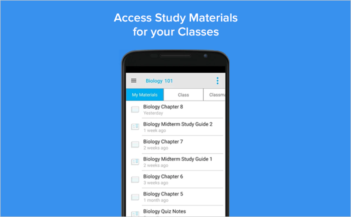 StudyBlue apps for students
