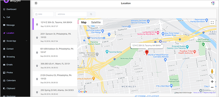 Android phone locator