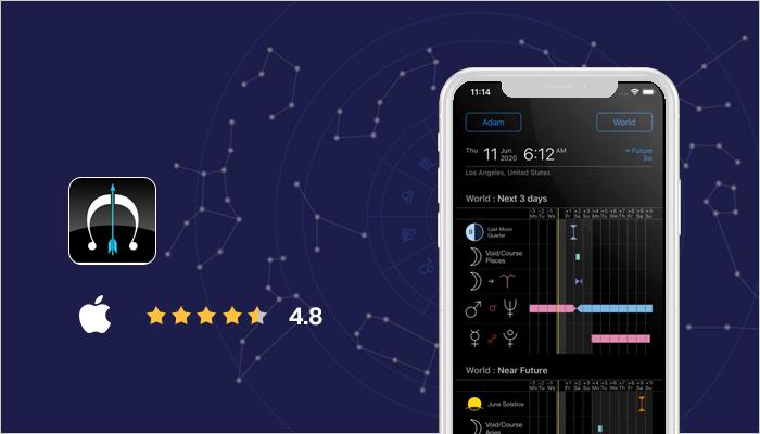 Time Nomad - Best astrology app
