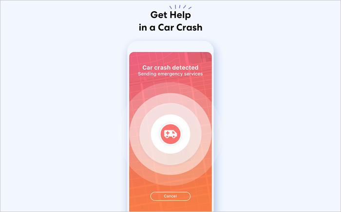 Get crash detection notification