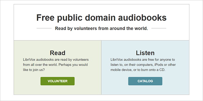 Register and select if you want to join as a reader or as a listener