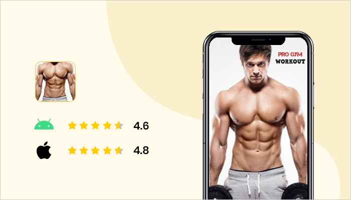 Pro Gym Workout - Best Bodybuilding App