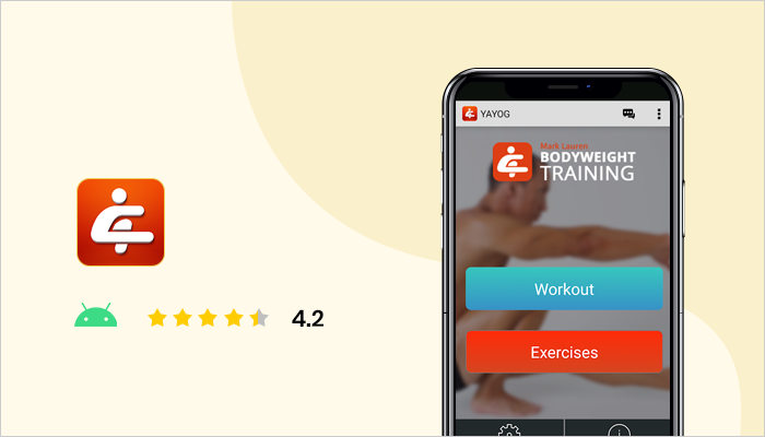 You are your gym - Best Bodybuilding App
