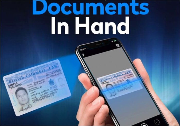 Scan anything and use OCR for smart save