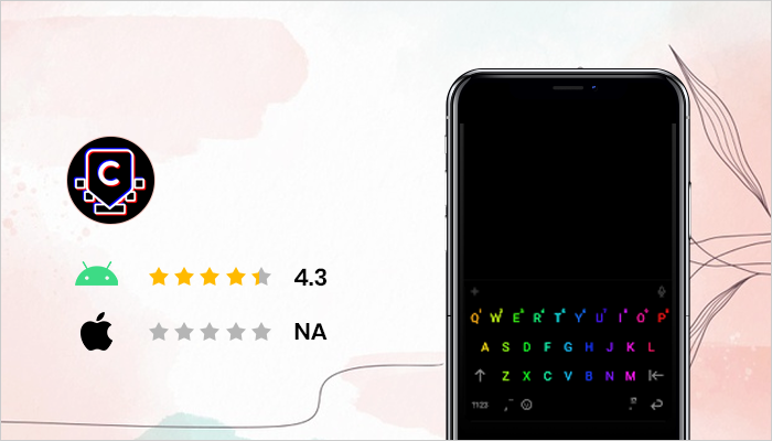 Chrooma- Best Keyboard Apps