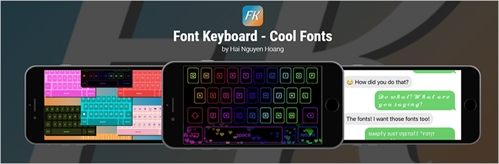 Font Keyboard App Review