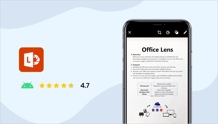 Microsoft Office Lens - Best Document Scanner App