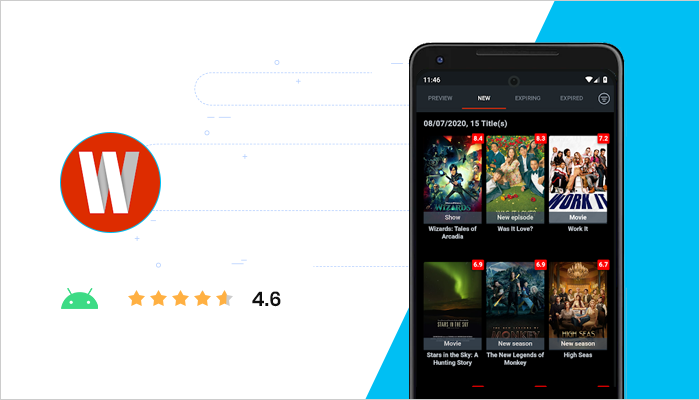 WhatsOnFlix - Best Free Android App