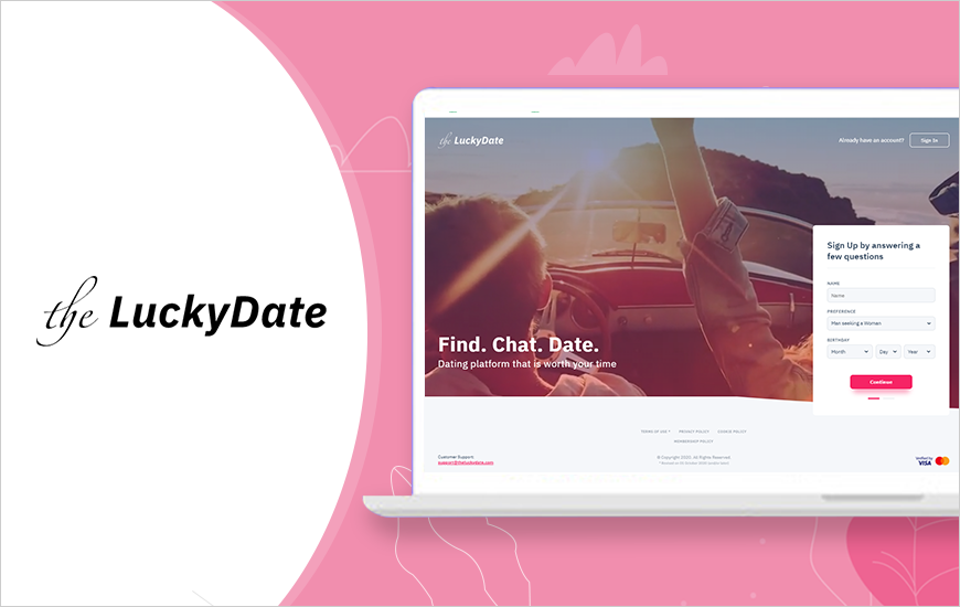 The Lucky Date- Best Free Dating Apps