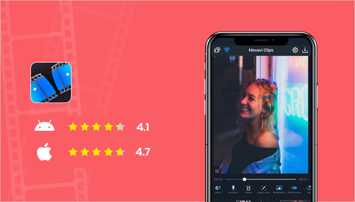 Movavi Clips - Best Video Editing Apps