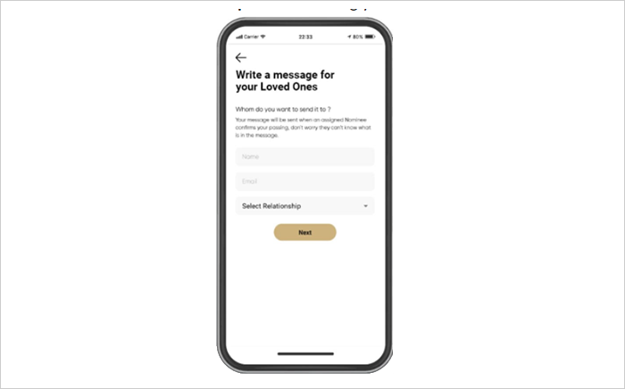 Step 4: Start writing your messages