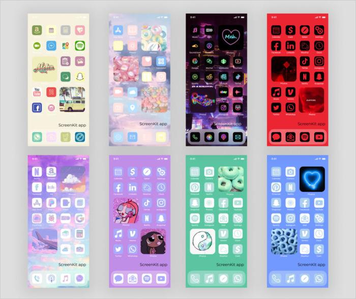 Jazz-up Your iPhone with ScreenKit App